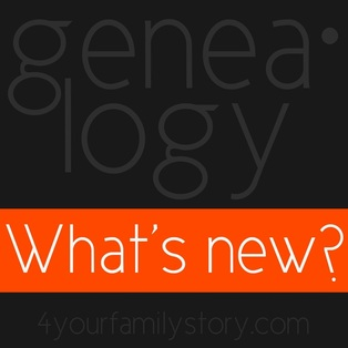 New & Updated Collections on Genealogy Sites, w/e 26 Jul 2013