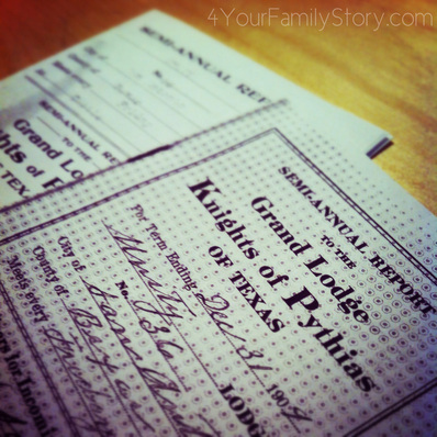 How Fraternal Order Records Can Help You With Your Family History Research via 4YourFamilyStory.com. #genealogy