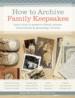 How to Archive Family Keepsakes Book Review via 4YourFamilyStory.com.