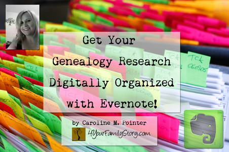 Get Your Genealogy Digitally Organized with Evernote presentation at Austin Genealogical Society Tuesday, 25 Mar 2014. #genealogy