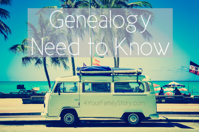 10 #Genealogy Things You Need to Know Today, Thursday, 15 May 2014, via 4YourFamilyStory.com #needtoknow #familytree
