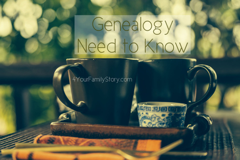 10 #Genealogy Things You Need to Know Today, Saturday, 12 July 2014, via 4YourFamilyStory.com. #needtoknow #familytree