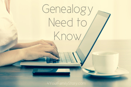 9 #Genealogy Things You Need to Know Today, Thursday, 5 Jun 2014, via 4YourFamilyStory.com. #needtoknow #familytree
