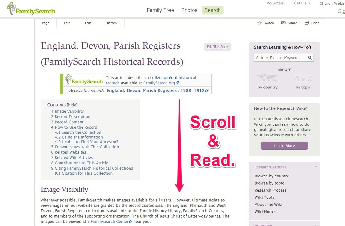 Don't Forget This When Looking at FamilySearch Collections on Ancestry.com via 4YourFamilyStory.com. #genealogy