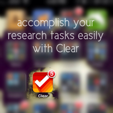 Accomplish your genealogy and family history research tasks easily with the Clear App.