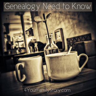 7 #Genealogy Things You Need to Know Today, Monday, 2 June 2014, via 4YourFamilyStory.com. #needtoknow #familytree